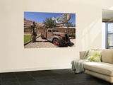Old Car Wall Mural by John Elk III