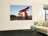 Torii at Low Tide, Itsukushima Shine Wall Mural by Damien Douxchamps