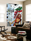 Fantastic Force No.2 Group: Phoenix, Scarlet Witch and Polaris Wall Mural by Steve Kurth