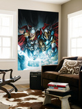 Secret Invasion: Thor 3 Cover: Thor and Beta-Ray Bill Wall Mural by Doug Braithwaite