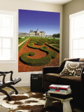 Parc Du Chateau De Vaux-Le-Vicomte Wall Mural by Tony Burns