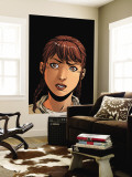 Arana 8 Headshot: Corazon and Anya Wall Mural by Roger Cruz