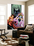Avengers/Thunderbolts No.2 Cover: Scarlet Witch, Songbirg and Vantage Wall Mural by Barry Kitson