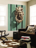 Door Knocker Detail Wall Mural by Steven Greaves
