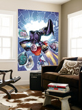 Black Widow & The Marvel Girls No.1 Cover: Black Widow Wall Mural by Salva Espin