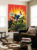 Captain America V4, No.29 Cover: Captain America Wall Mural by Dave Johnson