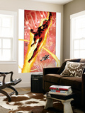 Ultimate Fantastic Four No.16 Cover: Human Torch Wall Mural by Adam Kubert