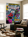 Spider-Man Family 6 Cover: Spider-Man and Green Goblin Reproduction murale géante par Ross Andru