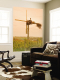 Vineyard Windmill Wall Mural by Richard Nebesky