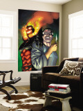 Defenders 4 Cover: Dr. Strange and Dormammu Wall Mural by Kevin Maguire