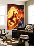 Marvel Comics No.1 70th Anniversary Edition Cover: Human Torch Wall Mural