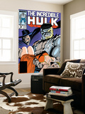 Incredible Hulk 335 Cover: Hulk, Wagner, Adria and Stalker Reproduction murale géante par John Ridgway