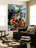 Exiles No.43 Group: Hyperion, Hulk and Spider-Man Wall Mural by James Calafiore