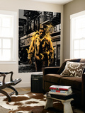 Luke Cage Noir No.3 Cover: Cage and Luke Wall Mural by Tim Bradstreet