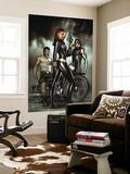 Adi Granov - Black Widow: Deadly Origins No.1 Cover: Black Widow, Bucky and Wolverine Nástěnný výjev