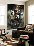 Black Widow: Deadly Origins 1 Cover: Black Widow, Bucky and Wolverine Wall Mural by Adi Granov