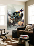 Incredible Hulk 603 Cover: Skaar, Wolverine, Banner and Bruce Wall Mural by Ariel Olivetti
