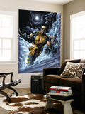 Wolverine: Origins No.33 Cover: Wolverine and Daken Wall Mural by Doug Braithwaite