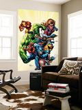 Marvel Adventures Avengers No.8 Cover: Captain America Reproduction murale par Sean Chen
