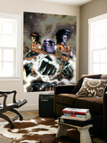 Thanos 12 Cover: Thanos and Gladiator Swimming Wall Mural by Ron Lim