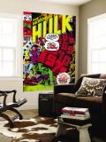 Incredible Hulk No.135 Cover: Hulk and Kang Lifting Wall Mural by Herb Trimpe