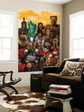 Thor & Hercules: Encyclopedia Mythologica One Shot Cover: Thor and Hercules Wall Mural by Mico Suayan