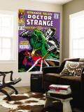 Strange Tales 166 Cover: Dr. Strange and Voltorg Wall Mural by George Tuska