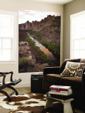 Smith Rock and Crooked River Wall Mural by Tyler Roemer
