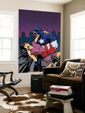 Captain America V4, No.25 Cover: Captain America Wall Mural by Dave Johnson