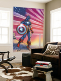 Captain America Theater Of War: America First! No.1 Cover: Captain America Wall Mural by Howard Chaykin