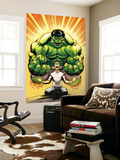 Hulk No.13 Cover: Banner, Bruce and Hulk Wall Mural by Ed McGuiness