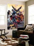 Captain America And The Falcon No.10 Cover: Captain America and Falcon Wall Mural by Howard Porter