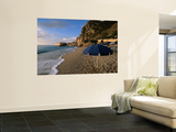Umbrella on Kathisma Beach, Lefkada Island, Ionian Islands, Greece Wall Mural by Doug McKinlay