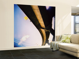 Looking Up at Freeway Over-Pass Wall Mural – Large by David Hannah