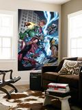 Marvel Adventures The Avengers No.31 Cover: Thor Reproduction murale par Salva Espin