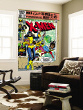 Dave Cockrum - Uncanny X-Men No.153 Cover: Shadowcat and Colossus Nástěnný výjev