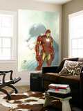 Fallen Son: The Death Of Captain AmericaNo.5 Cover: Captain America and Iron Man Wall Mural by Michael Turner