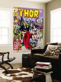 Thor No.179 Cover: Thor, Balder and Sif Wall Mural by Jack Kirby