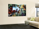 All New Savage She-Hulk No.4 Group: Spider-Man, Lyra, She-Hulk, Ms. Marvel and Wolverine Wall Mural by Peter Vale