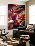 Spider-Man India No.1 Cover: Spider-Man Premium Wall Mural by Jeevan J. Kang