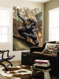 Mutant 2099 No.1 Cover: Channing and Chad Wall Mural by Pat Lee