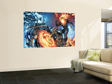Ghost Rider 28 Cover: Ghost Rider Wall Mural by Marc Silvestri