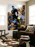 X-Men: Pixies And Demons Directors Cut Group: Wolverine Wall Mural by Greg Land