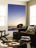 Beach at Sunset Wall Mural by Thomas Winz