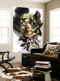 Hulk Family: Green Genes 1 Cover: Hulk, She-Hulk, Skaar, Scorpion and Daughter Of Hulk Wall Mural