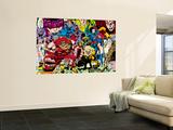 X-Men No.1 Pin-up Group: A Villains Gallery Vægplakat af Jim Lee