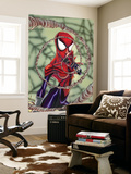 Spider-Girl No.70 Cover: Spider-Girl Fighting Wall Mural by Ron Frenz