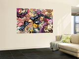 Ultimate X-Men No.85 Group: Storm, Wolverine and Sentinel Wall Mural by Yanick Paquette