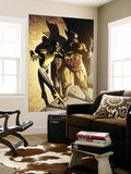 Wolverine: First Class No.11 Cover: Wolverine and Shadowcat Wall Mural by David Williams