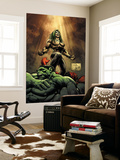 Hulk No.18 Cover: Doc Samson, Hulk and Rulk Wall Mural by Whilce Portacio